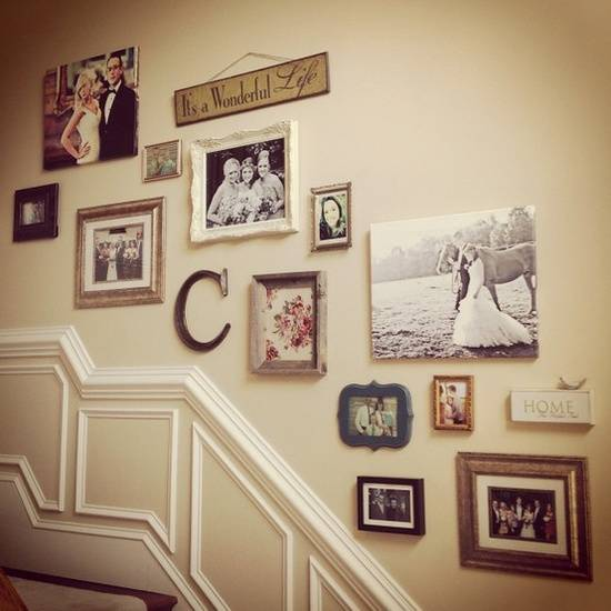 Gallery Wall - My house my home
